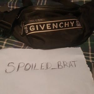 Givenchy Waist Bag Black & White